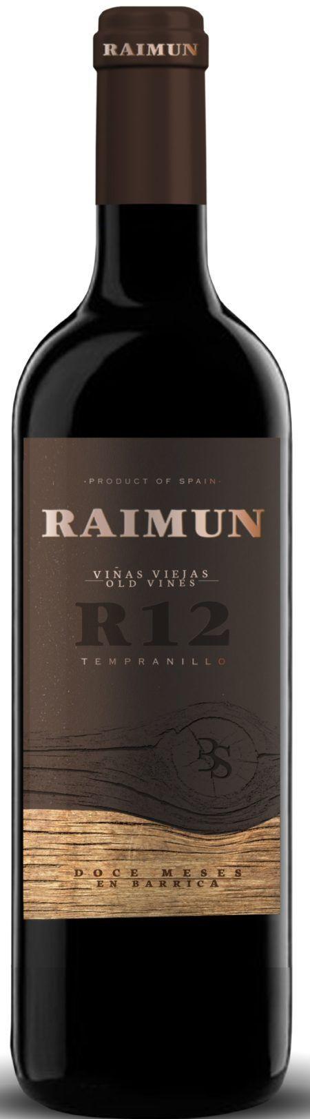 Sinforiano Tempranillo Rode Spaanse Wijn Castilla y Leon Raimun 12 meses