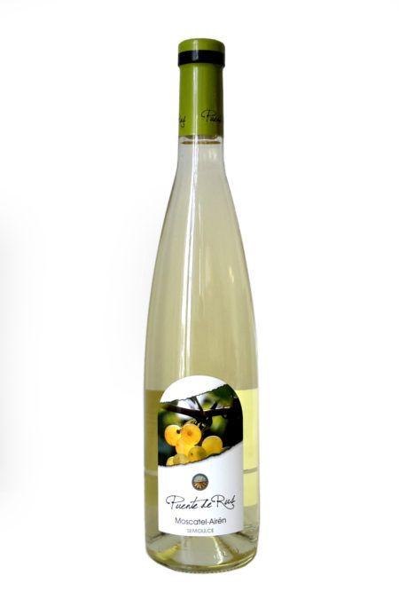 Spanje lichtzoet witte wijn La Mancha Puente de Rus