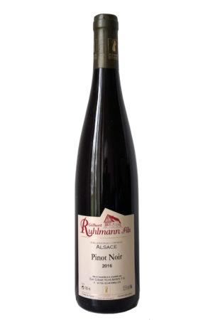 Gilbert Ruhlmann Pinot Noir Elzas Alsace Frankrijk rode wijn