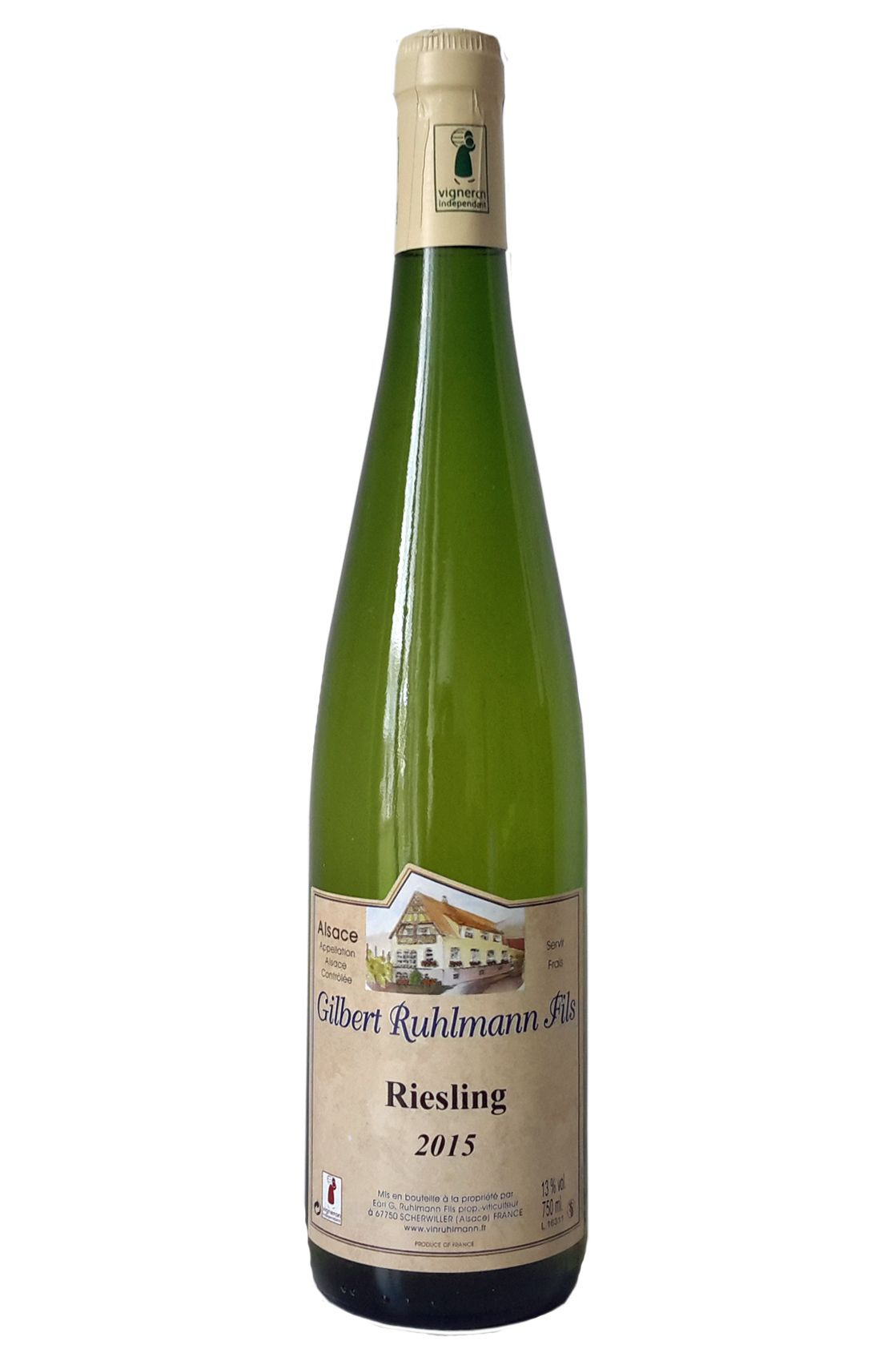 Gilbert Ruhlmann Riesing Alsace Frankrijk witte wijn Elzas