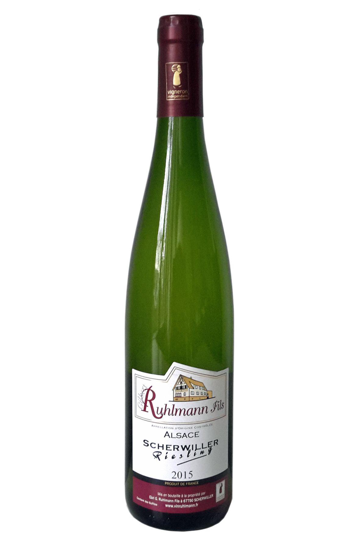 Gilbert Ruhlmann Scherwiller Riesling Frankrijk Alsace Elzas witte wijn