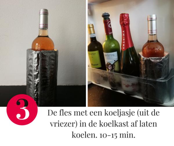 Tip 3 om wijn af te koelen