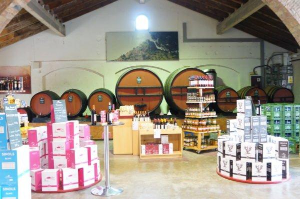 Wijnwinkel Empordàlia Spanje