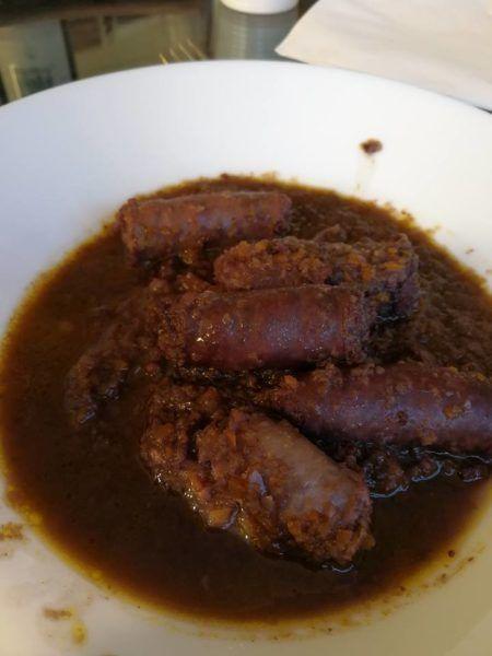 Diavolisanti sausages