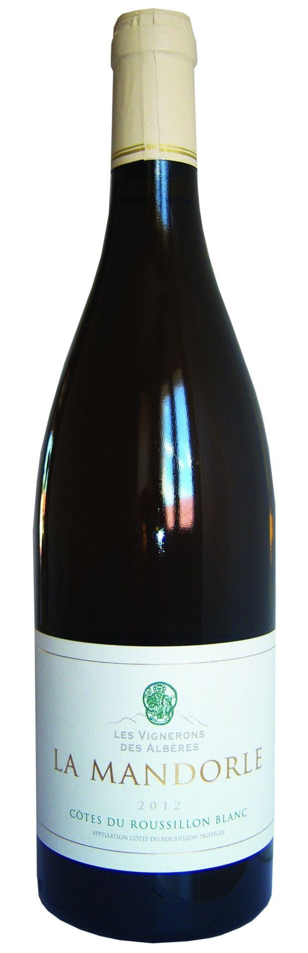 Les Vignerons des Albères – La Mandorle Blanche – witte wijn – Frankrijk – Côtes du Roussillon