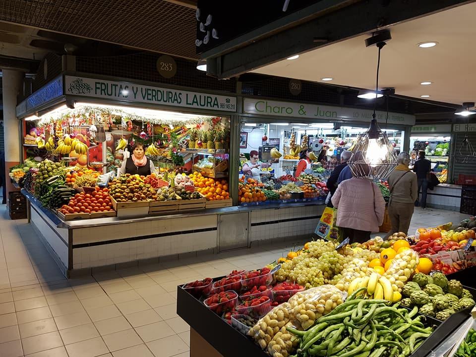 Mercado Central Spanje Alicante Las Virtudes
