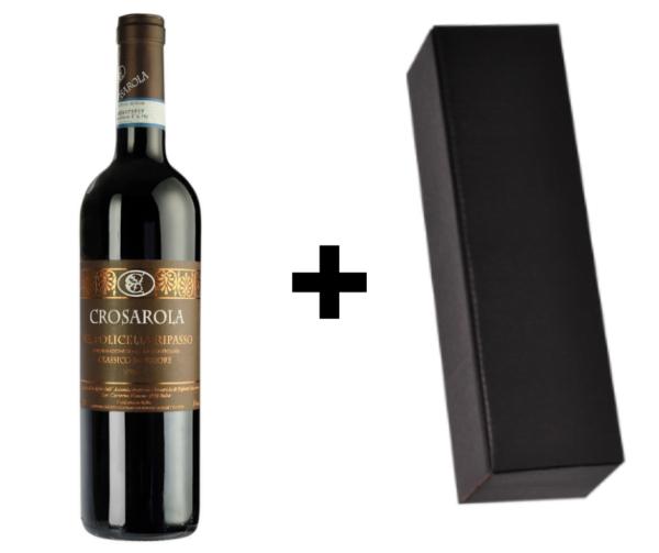 Wijndivas relatiegeschenken Ripasso + verpakking