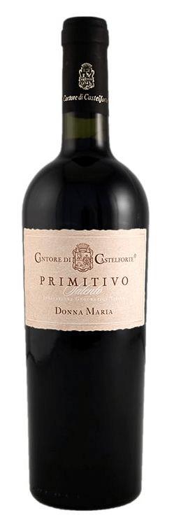 Cantore di Castelforte Primitivo Puglia Italië Wijndivas rode wijn