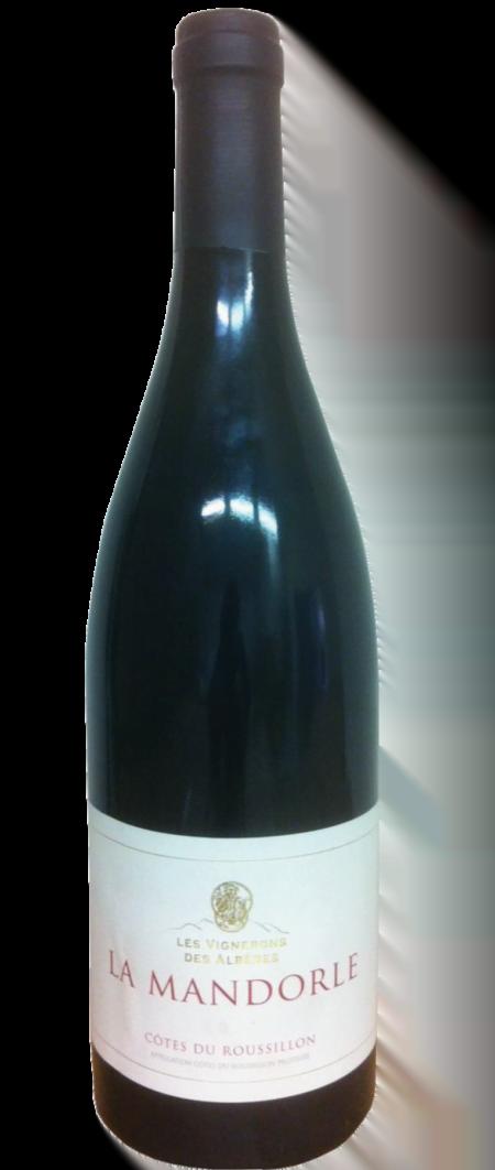 Mandorle Rouge Les Vignerons des Albères Rode wijn Frankrijk Wijndivas