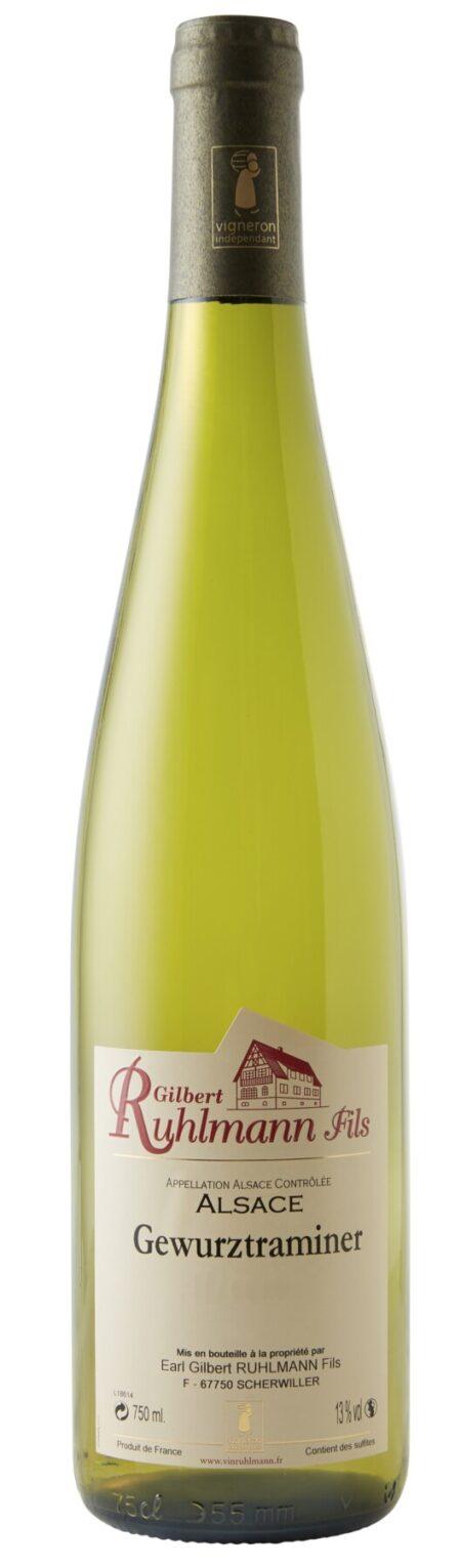 Gilbert Ruhlmann Gewurztraminer Elzas Frankrijk witte wijn Wijndivas